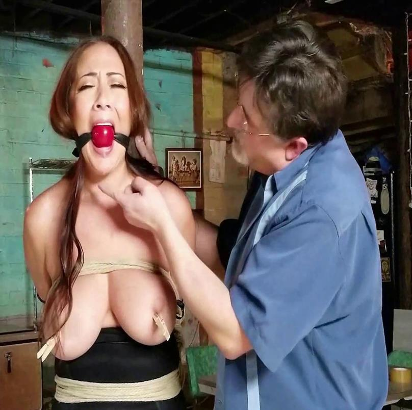 Have a bit of fun! - Asian Nyssa Nevers – Closing Time - The bitchy bartender - Rope Bondage