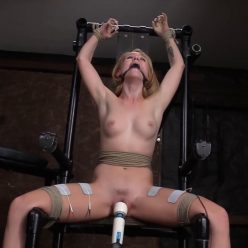 Master make Nikole an increasing number of helpless … the chains is harder - Society SM – Getting Tough with Nikole – Nikole Nash