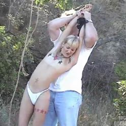Outside Bondage - The Woodsman Returns – SocietySM Redux – Betty Gold - Rope Bondage