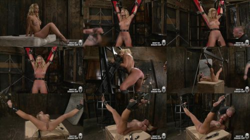 Leather Bondage - Cherie is restrained tightly - SocietySM – Cherie: In Ogre's Grip – Cherie Deville