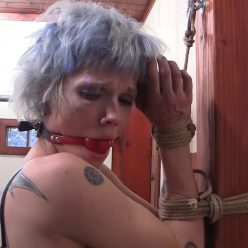 Rope Bondage - Leeloo is safely bound – Parched – Leeloo Stitch