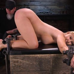 California girl needed some discipline and bondage – April 16, 2020 – Paisley Porter - Leather cuffs restraining Paisley Porter