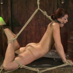 Cici is pressed to the limit - SocietySM – Show No Mercy – Cici Rhodes - Rope Bondage
