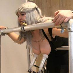 Katz requires training! Hucows – Katz – angry cosplay cow - Handcuffs Bondage