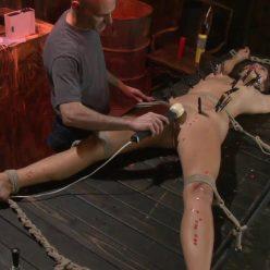 Extreme Bondage - SocietySM – Redand Raw – CeCe Stone - CeCe gets her first taste of pain