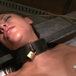 Lovely Aleksa is stocked and restrained...into a tickled tizzy –Aleksa Nicole is Tied, Tickled and Vibed – Aleksa Nicole - TiedForTickling - The Tickle Frenzy