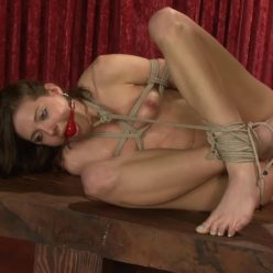 Rope Bondage - SocietySM – Boiling Orgasms – Sadie Holmes - Sadie rolls and boils into orgasm - Young, spread and naked woman