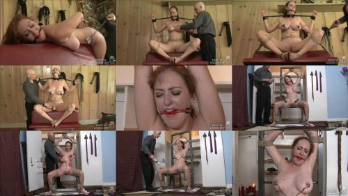 Rope Bondage - SocietySM – Explorations – Holly Wilds is roped