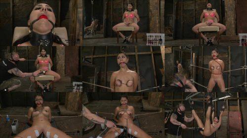 Rope Bondage - Scarlet  is roped tightly by her Master - SocietySM – Scarlet On The Edge – Scarlet Banks - Bondage Orgasm