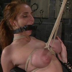 Rope Bondage - SocietySM – Brutal Business – Ashley Graham - The bondage orgasm is deep, primal and strong