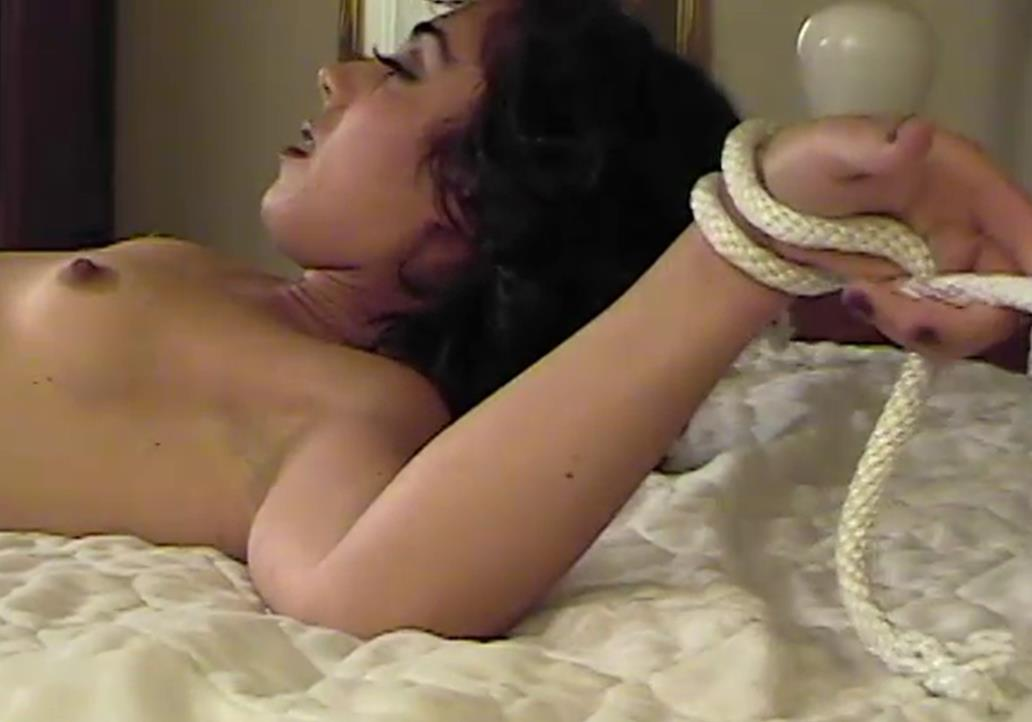Rope Bondage - King's Conquest – SocietySM Redux – Sammy King - Sexy Sammy is spread and tied off to the bed