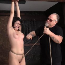 Leda ... no real experience with being bound - Society SM – Learning Her Role – Leda Lotharia