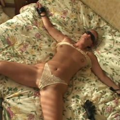 Rope Bondage - Arousing Marie – SocietySM Redux – Marie Zee is roped with blindfold