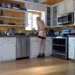 Enjoyable Bondage – Domestic Service – Rachel Greyhound with handcuffs and attractive lingerie and also heels