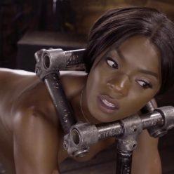 Sexy Slut Ana Foxxx loves bondage – July 11, 2019 – Ana Foxxx is bound with - Metal Bondage