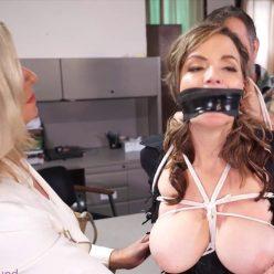 Image of tape bondage Dakkota,Eric Cain and JJ Plush