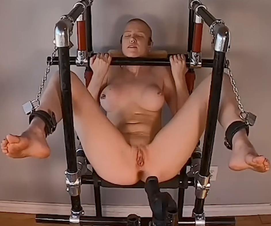 BondageLife – The Fucking (Machine) Display Stand Rachel Greyhound is nicely bound - 2/8/2021 - Completely helpless cutie