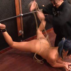 Sasha is bound securely - Bondage Life – Squirmy Bound Pet - Sasha Darling, Cassandra Crimson