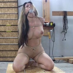 Drooling - The Evolution of Suffering - Asiana Starr - Pantyhose bondage