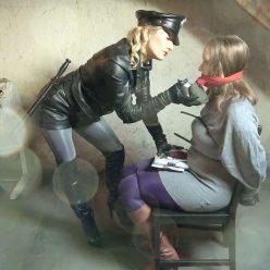 Female bondage - Larissa and Maggie – The pantyhose shoplifter - Bondish