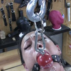 Predicament Bondage - Asiana Starr When Hunger Strikes Part 1 of 2 - Big ball strapped tightly around mouth