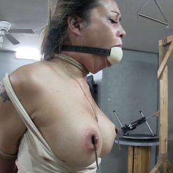 Predicament Bondage - Asiana Starr When Hunger Strikes Part 2 of 2 - Big ball strapped tightly around mouth