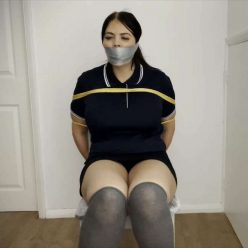 Gagattack - Terri Lou is gagged– Caught on her way to Soccer Training - FULL Video HD