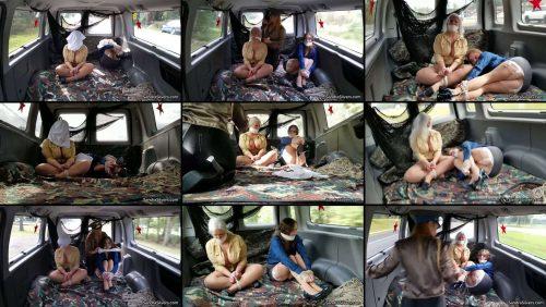 Rope Bondage - Sandra Silvers and Lauren Van-nabbed by Col. Lisa! - Vehicle Bondage - Sandrasilvers
